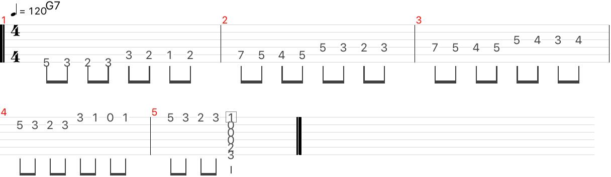ドミナントコード・7thコード エンクロージャー