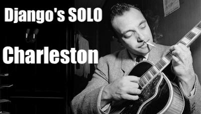 ジプシージャズギター charlestonのレッスン