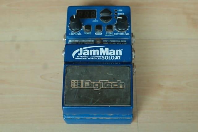 ジプシージャズ おすすめ ルーパー ループステーション Digitech jamman XT solo