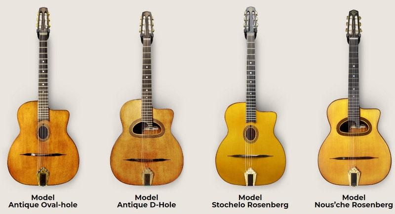 Stochelo rosenberg(ストーケロ・ローゼンバーグ)モデルのギター