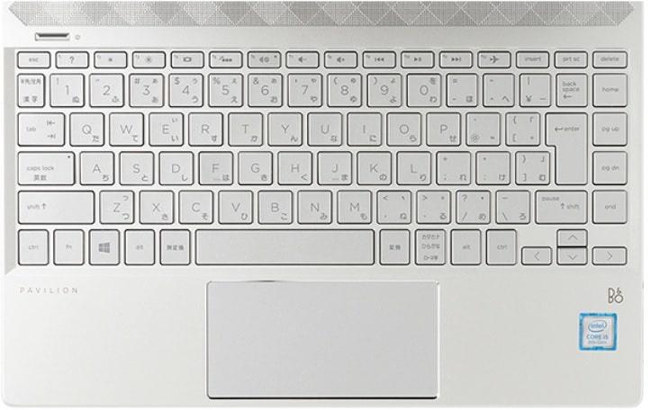 HP Pavilion 13-an1000のキーボード