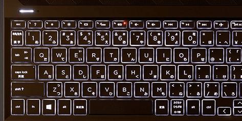 HP Pavilion 15-cs3000のキーボード・バックライト付き