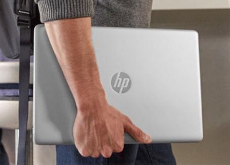 HP 15s-du1000の外観・外で使用