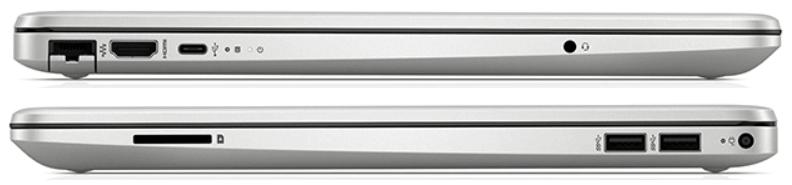 HP 15s-du1000のインターフェイス