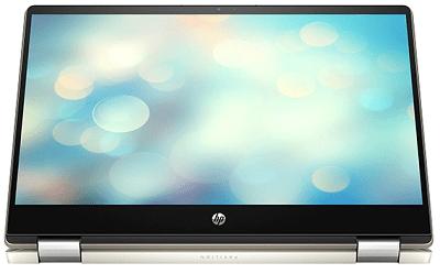 HP Pavilion x360 14-dh0000の外観・タブレットモード