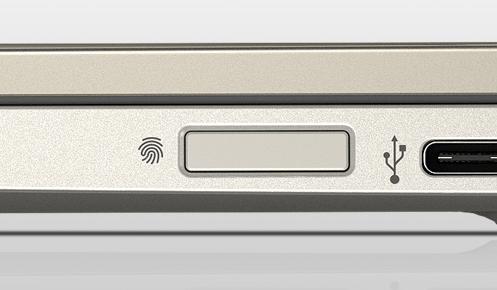 HP Pavilion 13-an1000の指紋センサー