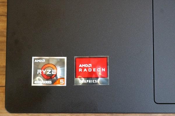 Ryzen 5モデルのパソコン