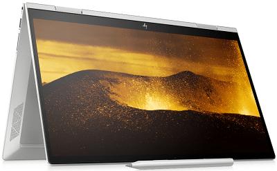 HP Envy x360(インテル)の外観・テントモード
