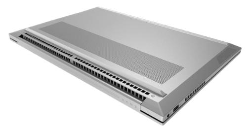 HP Envy 15の排気口・底面
