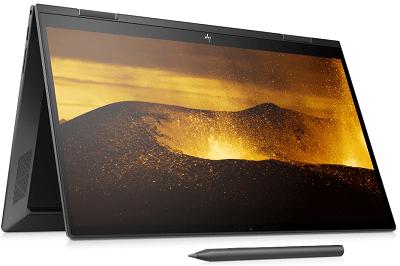 HP Envy x360 15の外観・テントモード