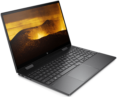 HP Envy x360 15の外観・左横