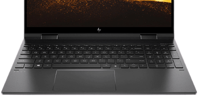 HP Envy x360のキーボード