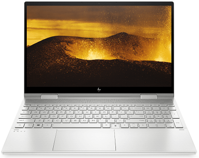 HP Envy x360(インテル)の外観・ディスプレイ