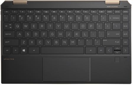 HP spectre x360 13のキーボード