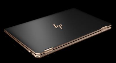 HP Spectre x360 15の外観・天板