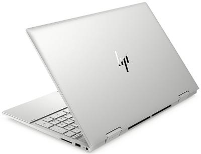 HP Envy x360(インテル)の外観・後ろ