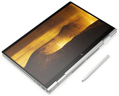HP Envy x360(インテル)の外観・タブレットモード