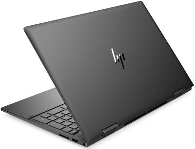HP Envy x360 15の外観・後ろ