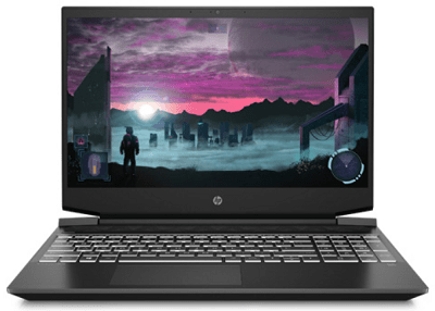 HP Pavilion Gaming 15(AMD)の外観・正面