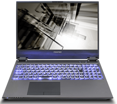 Frontier gaming laptops ZNシリーズ