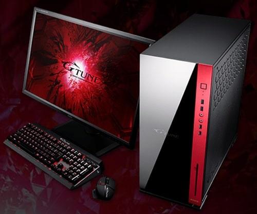 NVIDIA GeForce RTX 3080搭載機種・マウス G-Tune EP-Z