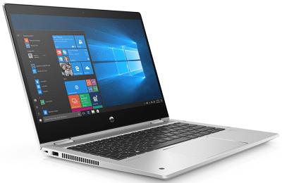 HP ProBook x360 435 G7の外観 左斜め前