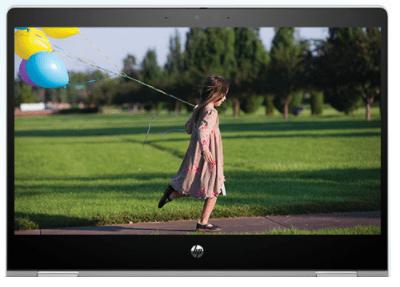 HP ProBook x360 435 G7のディスプレイ