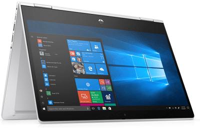 HP ProBook x360 435 G7の外観 テントモード