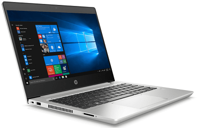 HP Probook 430 G7の外観・左斜め前から