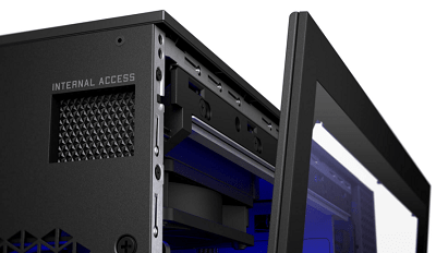 HP OMEN 25L Desktopの筐体