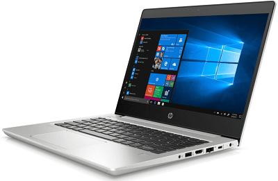 HP Probook 430 G7の外観・右斜め前から