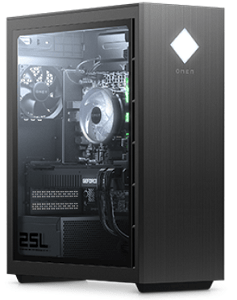 HP OMEN 25L Desktopの外観・筐体内部