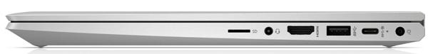 HP ProBook x360 435 G7の外観 薄さ