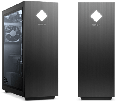 HP OMEN 25L Desktopの外観