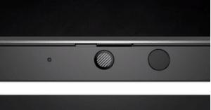HP ZBook Firefly 14 G7のプライバシースライダー 閉じた状態