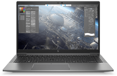 HP ZBook Firefly 14 G7の外観 正面