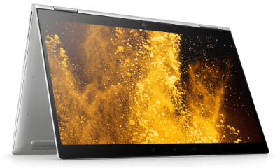 HP EliteBook x360 1040 G6の外観 テントモード