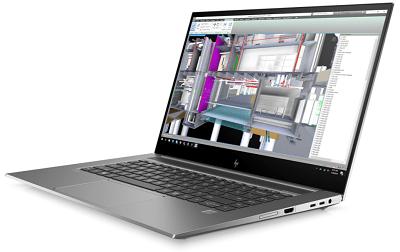HP ZBook Studio G7の外観 右横から