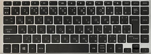HP 340S G7のキーボード