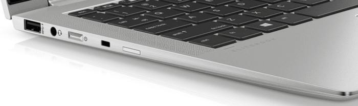 HP EliteBook X360 1040 G6のインターフェイス 左側面