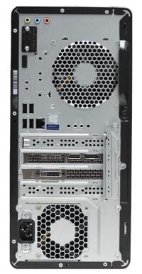 HP Pavilion Gaming Desktop TG01の背面 インターフェイス