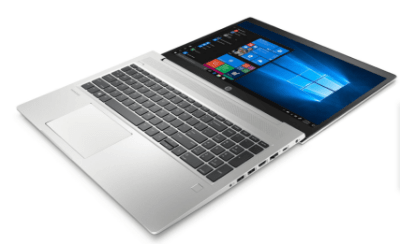 HP ProBook 450 G7の外観 180度開ける