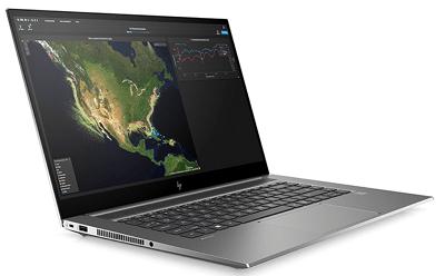 HP ZBook Create G7の外観 左斜め前から