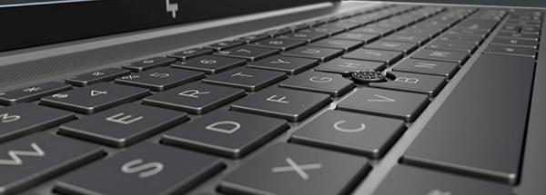 HP ZBook Firefly 15 G7のキーボード