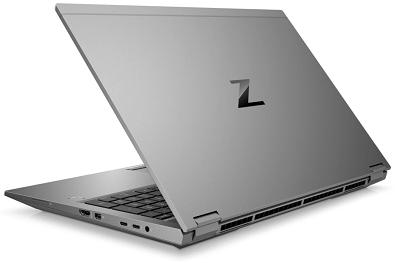 HP XBook Fury 15 G7の外観 背面