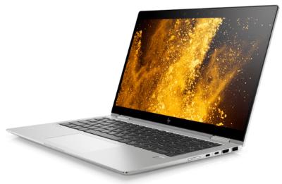 HP EliteBook x360 1040 G6の外観 右斜め前から