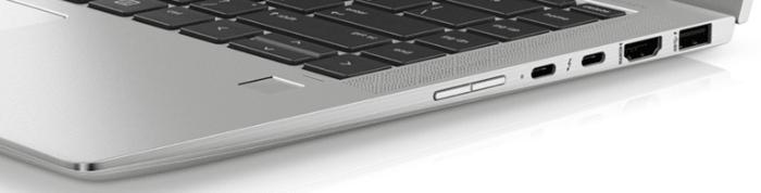 HP EliteBook X360 1040 G6のインターフェイス 右側面