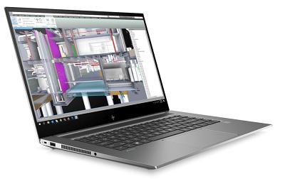 HP ZBook Studio G7の外観 横から