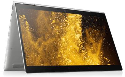 HP EliteBook x360 1030 G4の外観 テントモード