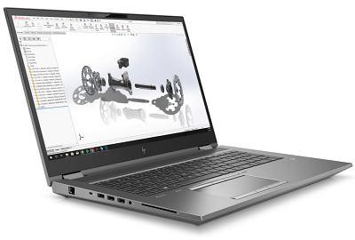 HP ZBook Fury 17 G7の外観